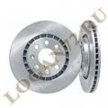 Диски тормозные передние вентилируемые к-т 2шт (аналог)