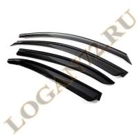 Дефлекторы Logan 2014 на скотче аналог