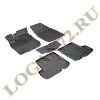 Коврики салона Logan 2014 полиуритан Aileron (3D)  комплект