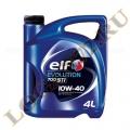 Масло моторное ELF EVOLUTION NF 10W40 полусинтетика