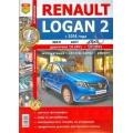 Книга Renault Logan II с 2014 с двигателями K7M (1,6л 8V ) и K4M(1,6л 16 V).